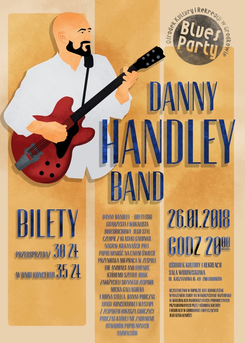 BLUES PARTY Danny Handley Band